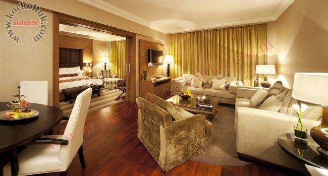 Otel Odası Koltuk Takımı Modern Lüks Konforlu Özel Üretim