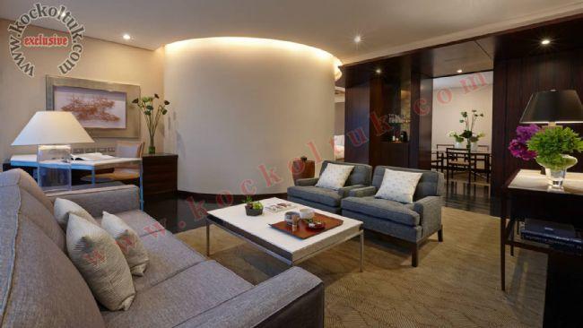 Otel Odası Koltuk Takımı Modern Özel Üretim Lüks