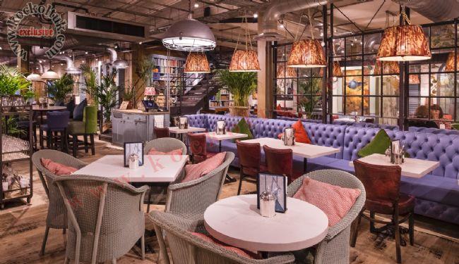 Özel Ölçü Üretim Chester Koltuk Restoran Tasarımı