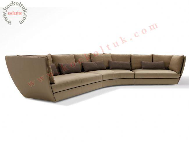 Özel tasarım kavisli koltuk takımı