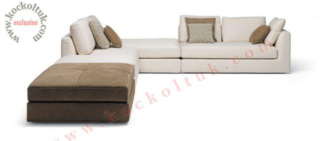 Özel tasarım modern L koltuk takımı