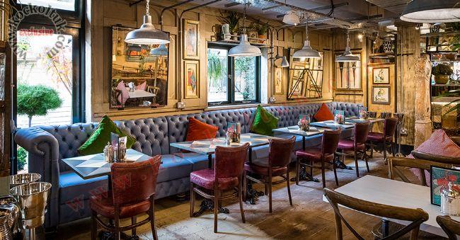 Restoran Cafe Chester Koltuk Özel Ölçü Üretim