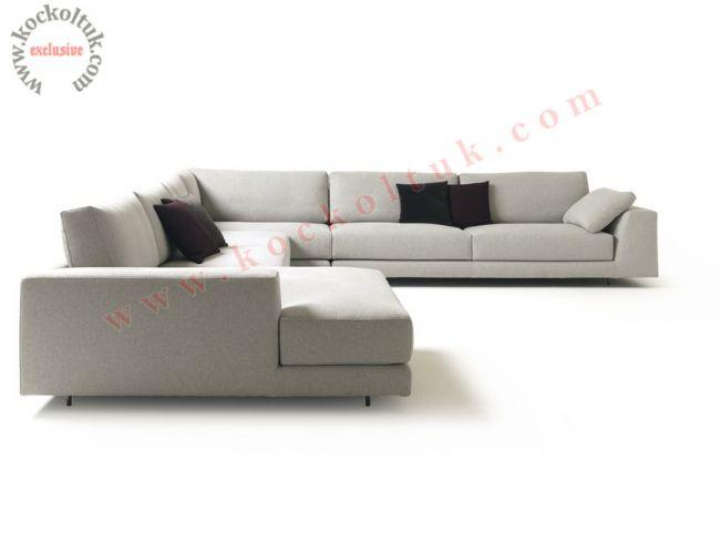 Salon köşe koltuk takımı modern büyük ölçü u şeklinde
