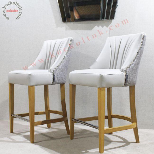 Yüksek Sandalye Modelleri Bar Sandalyeleri Avangart Lüks