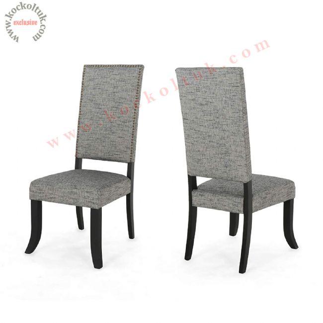 Yüksek sırtlı modern sandalye